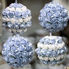 Palline di Natale fatte a mano con fiori bianchi e azzurri decorazione addobbo albero di natale diametro 7 cm PieffeLine http://www.amazon.it/dp/B016AO1QV6/ref=cm_sw_r_pi_dp_vT3kwb1KKYZ0S