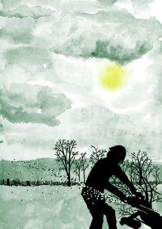 L'hiver au bois Mathias Bonneau