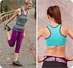 The Vitality Racerback Sewing Pattern includes a racerback tank with optional built-in bra and sports bra option. Its perfect for your
