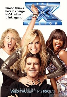 X Factor USA 2013 Judges season 3 premiere promo Paulina Rubio, Demi Lovato , Kelly Rowland and Simon Cowell. Simon and Demi make X factor entertaining:D