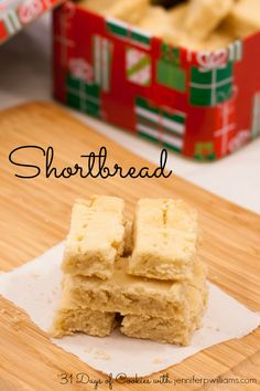 The thing that makes this Shortbread recipe perfect is its simplicity. It is very easy to make and it tastes fantastic.