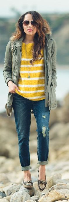 Down By The Water Casual Style by A Keene Sense Of Style