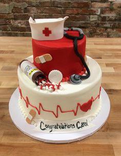 Nursing Graduation Party Cake