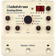 Analog Drive Multi-Circuit Analog Distortion Unit Pedal | Musician's Friend