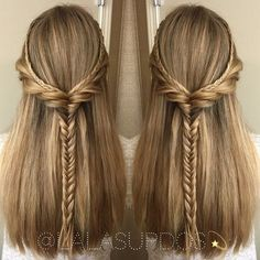 nice 50 Fabulous Half Updos – New Styling Ideas - The Right Hairstyles for You