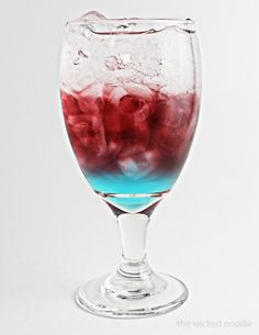 Fourth of July Recipe – Red, White & Blue Cooler (non-alcoholic and great for kids!)