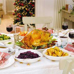 I love Christmas dinner!