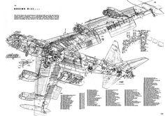 1955 ... Boeing B-52 'Stratofortress' #cutaway