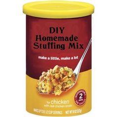 Homemade Stuffing Mix