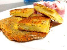 Ananas impanata e fritta