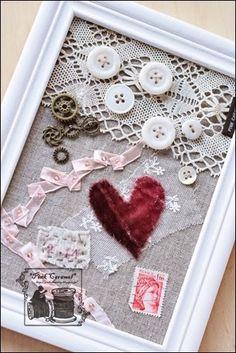 Pink Caramel バレンタインコラージュ ★