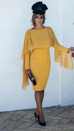 Me encanta Look Fashion, Timeless Fashion, Autumn Fashion, Womens Fashion, Fashion News, Dama Dresses, Short Dresses, Formal Dresses, Ladies Day Outfits