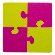 (Topf)untersetzer in Puzzle-Form