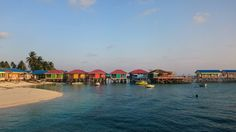 Derawan Island Water Cottage, East Borneo, Indonesia