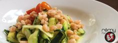 Rezept: Avocado-Feta-Zuchini mit Chiligarnelen