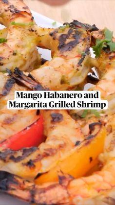 Shrimp Recipes, Fish Recipes, Keto Recipes, Cooking Recipes, Grilled Shrimp, Fresh Lime Juice, Fish Dishes, Food Videos, Food Processor Recipes