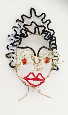The bride of Frankenstein Handbeaded by LisaRoxette