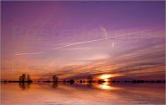 Cornelia Dettmer - Sonnenuntergang in lila