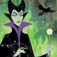 Disney Villains: Maleficent:)