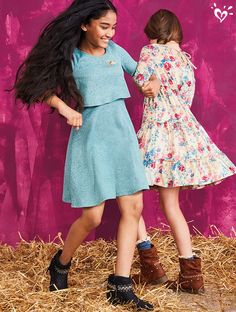 Dance and swing in perfect pullover dresses with the cutest prints!