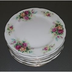 Oriental Porcelain - 10 x Wessex Fine Bone China Side plates. No Damage. All for one bid for sale in Vereeniging English Summer, Side Plates, Rose Design, Bone China, Oriental, Porcelain, Roses, Tableware, Porcelain Ceramics
