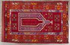 Antique/Semi-Antique Turkish Ladik Konya Prayer Rug/Carpet Hand Knotted NICE yqz