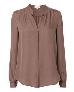 L'AGENCE Bianca Blouse. #lagence #cloth #blouse