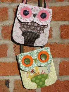 felt owl purse pattern - Google Search
