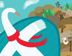 "Check out new work on my @Behance portfolio: ""swan flight"" http://be.net/gallery/31383995/swan-flight"