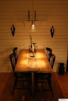 liggande träpanel,golvplank,matbord,matplats