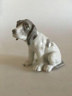 """8.5 cm H (3 11/32""""). Borzoi Dog, Accent Decor, Dogs And Puppies, Labrador Retriever, Kitten, Sculptures, Porcelain, Decorative Accents, Antiques"""