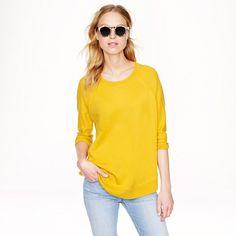 Merino wool swing sweater - accessories - Women's new arrivals - J. Fall Sweaters, Cute Sweaters, Cashmere Sweaters, Sweaters For Women, Skinny Arms, Sweater Weather, J Crew, Autumn Fashion, Pullover