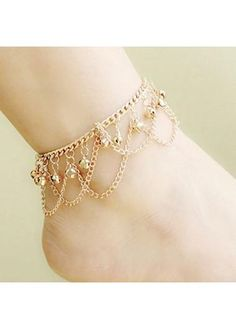 Jewelry & Watches Anklet Sterling Silver 925 Ruby Crystal Ankle Bracelet Dainty Fine Craftsmanship Fine Anklets