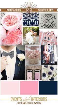 Wedding Wednesday || C & C Storyboard. The StyleSphere by Stephanie Bradshaw
