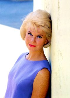 Doris Day -- balance and harmony of color; more than just a pleasing portrait.