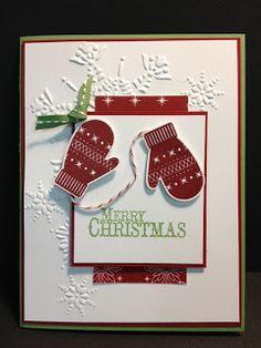 My Creative Corner!: Make a Mitten / Chock-Full of Cheer Christmas Card