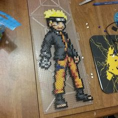 Naruto perler beads by three_point_one_four_creations
