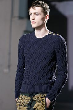 Dries Van Noten | Spring 2014 Menswear Collection | Style.com