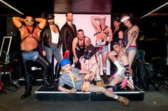 Fresh meat: the stars of Glastonbury's gay cabaret nirvana – in pictures | Art and design | The Guardian