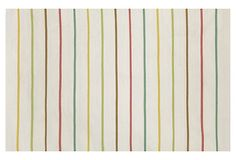 Playful Stripe Rug, Neutral | Little Additions | One Kings Lane