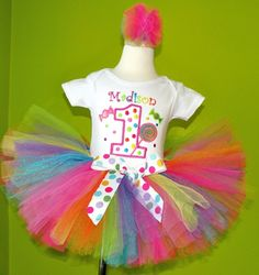 This cute tutu shit wasn't around when she was one...do you think she would let me do it for 13???