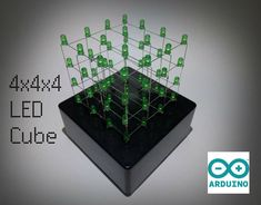 In this tutorial I'll show you how to make a 4x4x4 LED cube for around $15.00. The cube has 64 green LEDs which make up it's 4 layers(positives) and 16 columns(negatives). These are all wired to a Arduino Uno. An Arduino is a single-board microcontroller, intended to make the application of interactive objects or environments more accessible. The hardware consists of an open-source hardware board designed around an 8-bit Atmel AVR microcontroller, or a 32-bit Atmel ARM. I programed co...