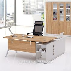 Factory wholesale price ceo office furniture antique style office desk