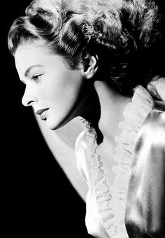 'Be yourself. The world worships the original.' - Ingrid Bergman