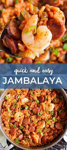 This Jambalaya recipe is full of bold Cajun flavor! Use the protein of your choice and get ready for this recipe to rock your tastebuds! #cajun #creole #jambalaya #dinnerrecipe Entree Recipes, Pork Recipes, Seafood Recipes, Slow Cooker Recipes, Cooking Recipes, Best Jambalaya Recipe, Stove Top Recipes, Best Appetizers, International Recipes