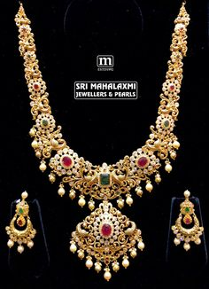 Exquisite handcrafted jewels designed and finished finely keeping minimum gold wt. Made in 22kt gold studded with fine gems.For details call on +91 9676804991; 7093820881.Visit store @ Road no.36 Jubilee hills Hyderabad to see the complete exquisite collection. 14 September 2018