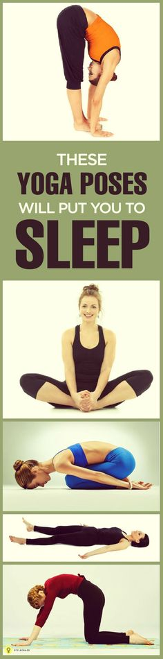 Need a quick remedy to help you get to sleep? Try these 10 yoga poses for better rest.