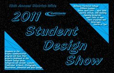 2011 Gateway Technical College Student Design Show Postcard