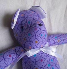 Olympia the Little Teddy Bear by ellemardesigns on Etsy, $10.00