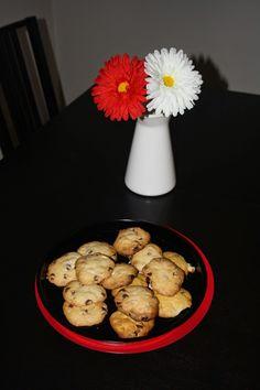 Las dulces manualidades de Lara: Cookies de chocolate y frutos secos